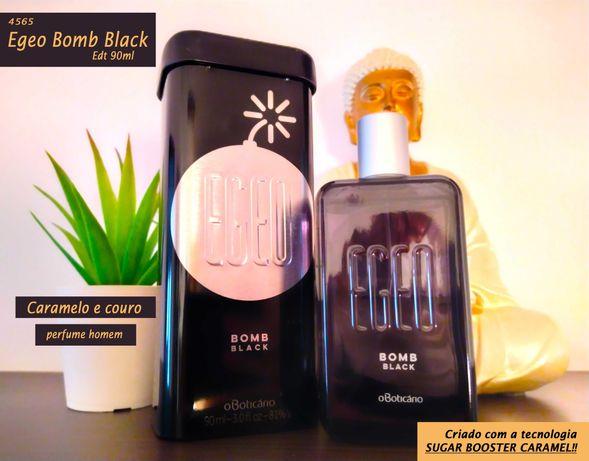 Perfume masculino EGEO Bomb Black - Boticário