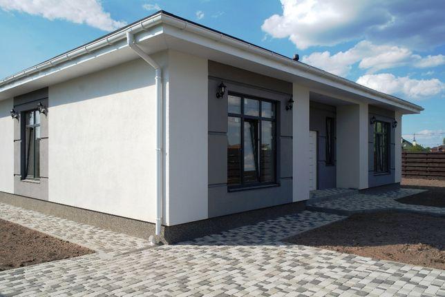 Белогородка одноэтажный дом на 10 сотках