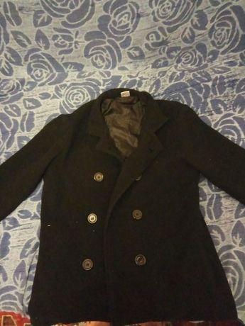 Черный пиджак из флиса
