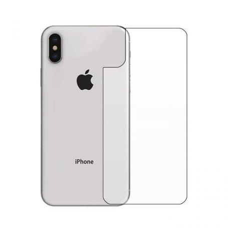 Pelicula de Vidro Temperado para a traseira do iPhone X e XS