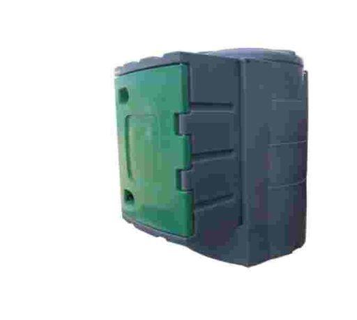 Zbiornik dwupłaszczowy JFC 1600L do ON z dużą szafą