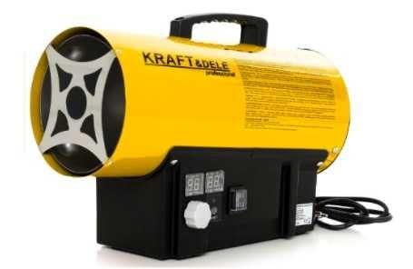 Газовая тепловая пушка 40 KW  с термостатом KRAFT & DELE