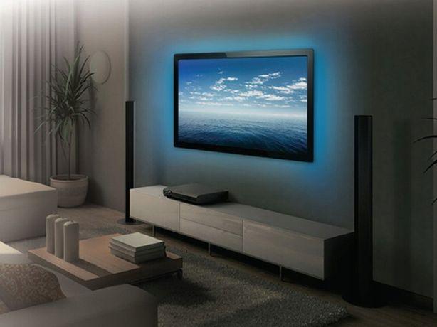 TAŚMA LED RGB USB Z PILOTEM 3M podświetlenie telewizora