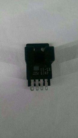 Interruptores ópticos EE-SX674P + EE-SX670P + EE-SX672.