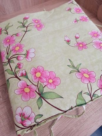 Бортики в манеж + 2 одеяла