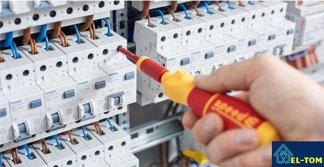 Elektryk z uprawnieniami, Pogotowie elektr.24h, podłączanie indukcji