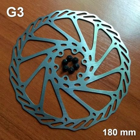 Ротор дискового тормоза (тормозной диск). 180 мм.