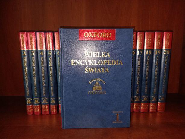 Wielka encyklopedia świata Oxford tomy 1-20 wraz z suplementami