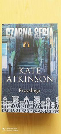 """""""Przysługa"""" Kate Atkinson"""