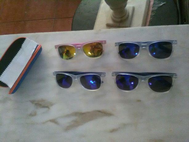 Conjunto de 4 Óculos de Sol Wtf