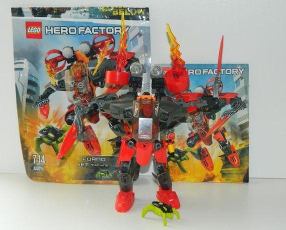 LEGO Hero Factory Реактивная машина Фурно 44018 лего робот