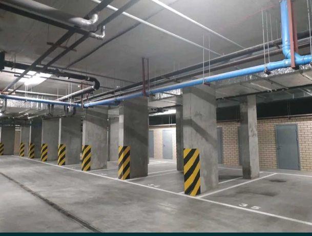 Подземный паркинг в ЖК Центральный 2