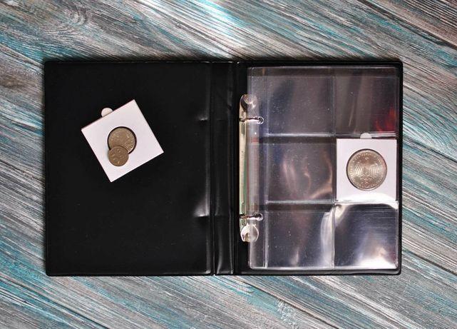 Альбом для монет в холдерах