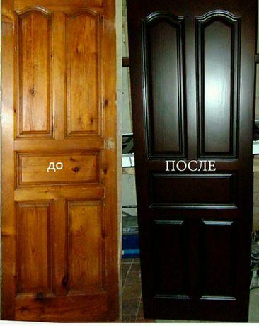 Реставрация дверей/мебели/лестниц.