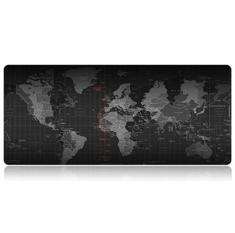 Podkładka pod Mysz do Gier Mapa Świata 80 cm x 30 cm