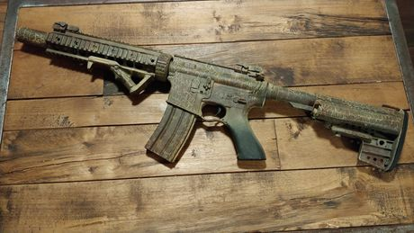 Replika asg cyma 070 m4/m16 Full metal