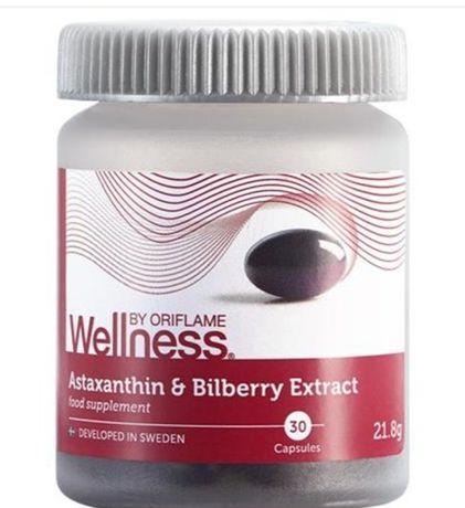 Astaksantyna i ekstrakt z borówek oriflame