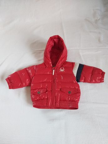Kurtka niemowlęca na zimę, marka United Colors of Benetton, 3-6 mies.
