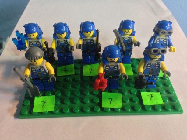 Lego Power Miners Minifigurki Figurki Ludziki