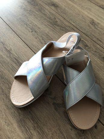 Sandalki holo nowe h&m