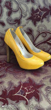 Туфли женские искусственная кожа