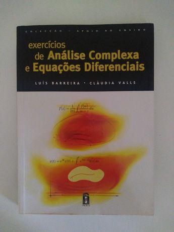 Exercícios de Análise Complexa e Equações Diferenciais - Como Novo
