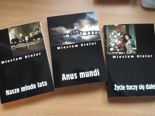 Pakiet 3 książek Wiesław Kielar