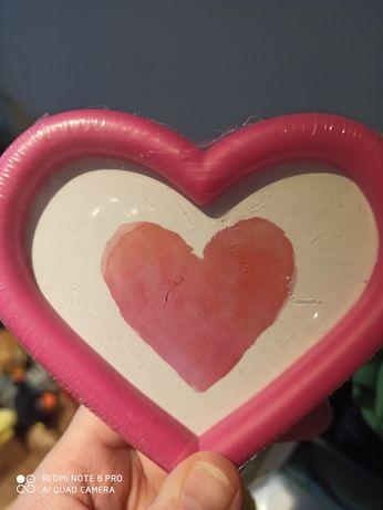 Ramka na zdjęcia magnes serce