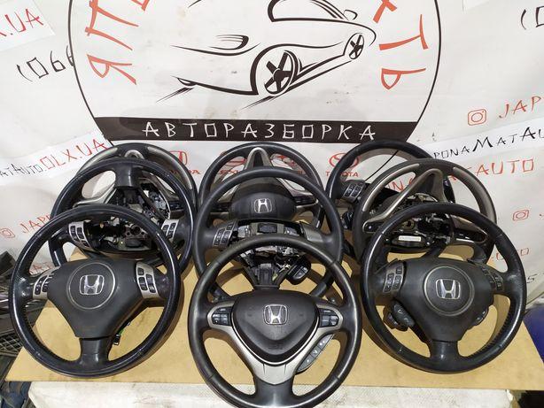 Руль Рулевое колесо Кермо Honda Хонда Accord Civic CR-V Акорд Цивик