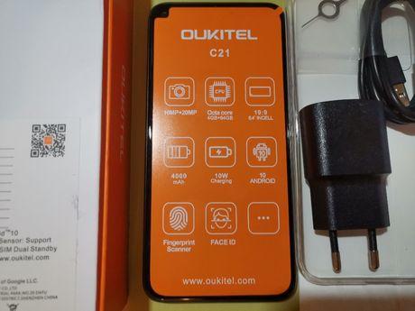 "Oukitel C21 (6,4"" 4/64GB/8-ядер/4000mA/4G LTE/Type-C/OTA)"