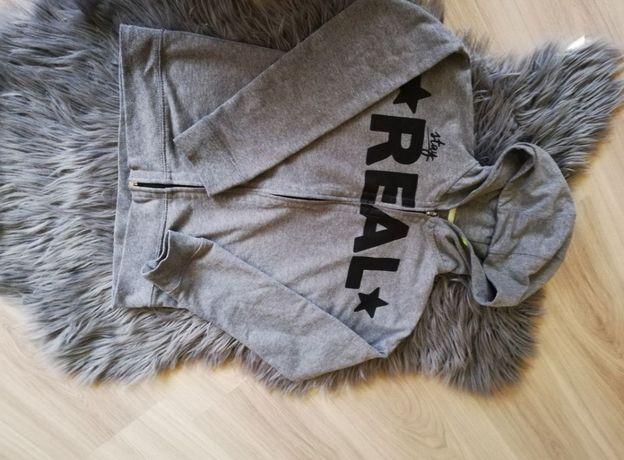 Bluza z Kapturem Real