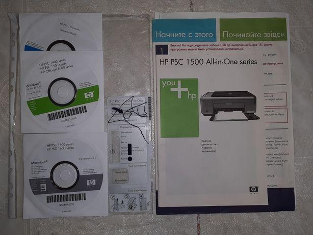 Краткое руководство HP PSC 1500 series
