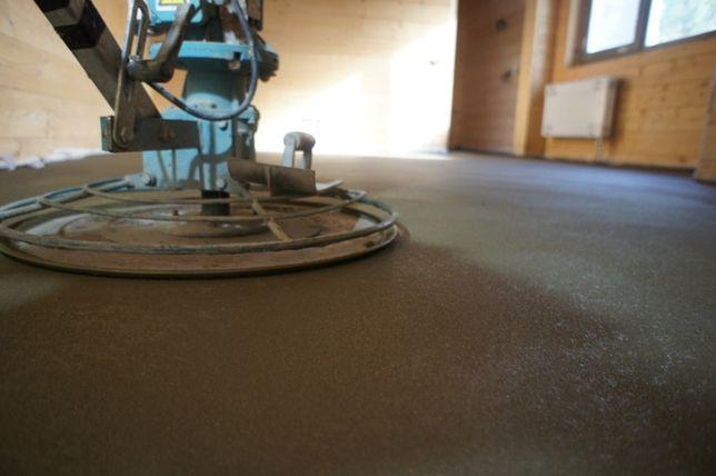 Полусухая стяжка, бетонирование, пол (бетонування, підлога, бетон)