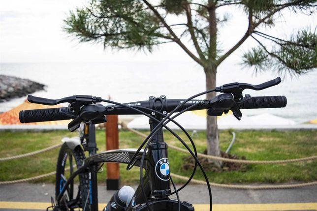 "Cупер кoмплект! Велосипед BMW BLACK WHITE на литых дискax 26""17 W0072"