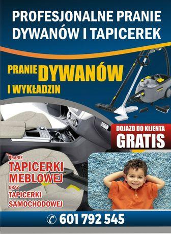 Pranie tapicerki meblowej i samochodowej Lipno Rypin okolice