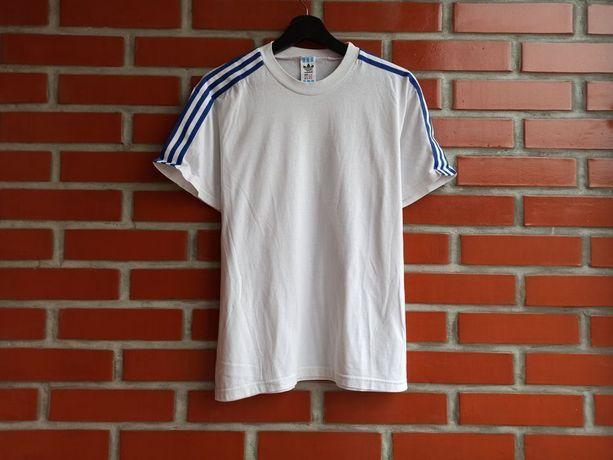 Adidas Vintage Белая винтажная футболка размер М