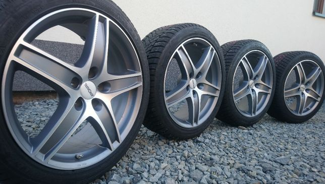 Koła Ronal 19 cali 5x112 ET35 Opony 255/40 Audi VW Skoda Mercedes