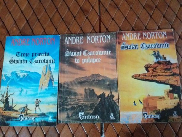 Książki Nortona fantastyka
