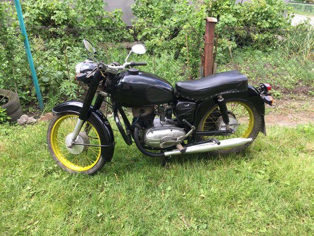 Мотоцикл Pannonia T-5 1968 р. на ходу і з документами