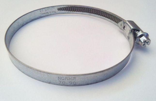 Хомут  оцинкованный Norma (W1) 70-90 мм