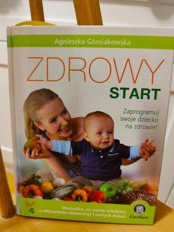 Książka zdrowy start, żywienie dziecka