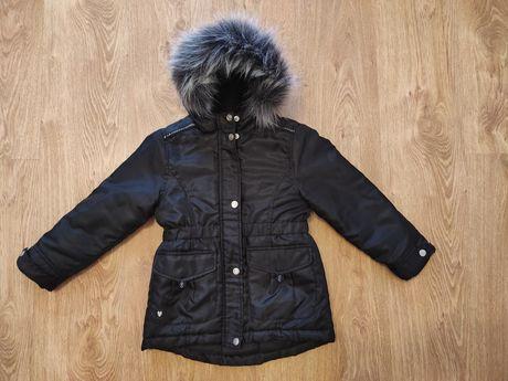 Czarna Kurtka zimowa cool club 110