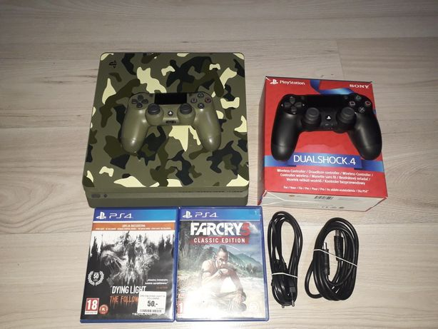 Konsola Sony PlayStation 4 GWARANCJA Slim 1TB Green Camo Limited