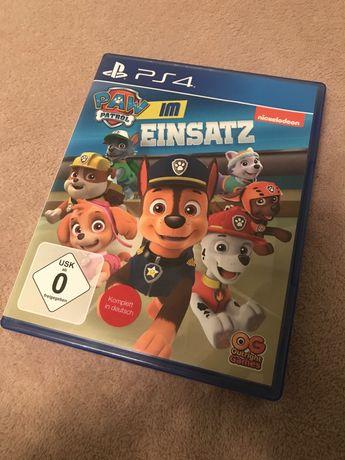 Игра  PAW Patrol PS4 щенячий патруль
