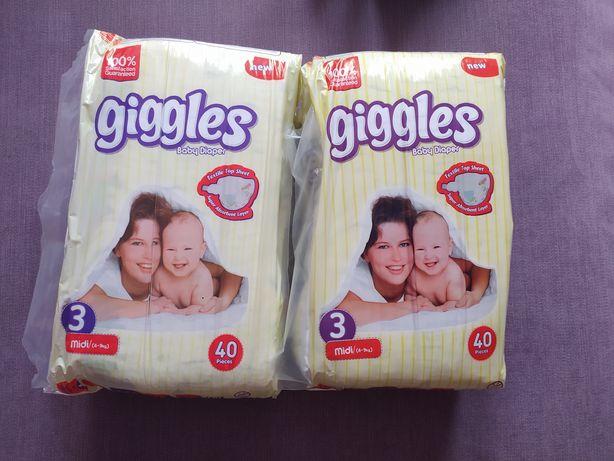 Памперсы Giggles 3