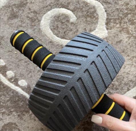 Гимнастическое колесо для пресса  + коврик