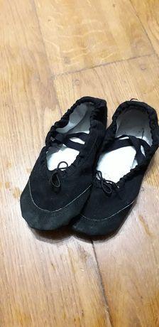 Чешки балетки перевзуття взуття на фізкультуру та для танців 24р