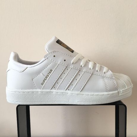 Adidas Superstar. Rozmiar 36,37,38,39,40,41. Całe białe