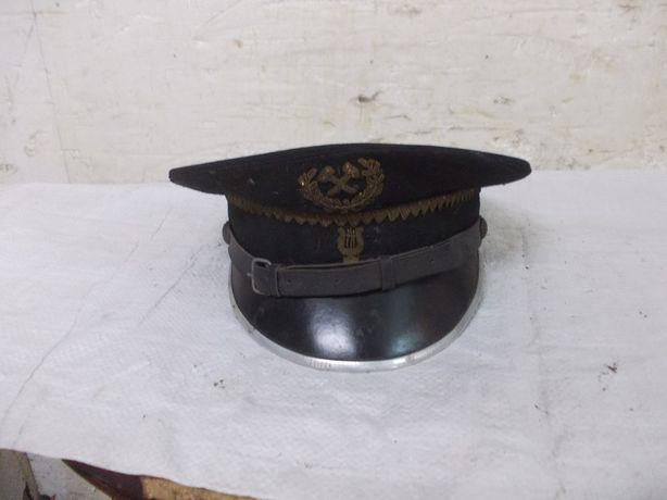 Zabytkowa czapka z orkiestry górniczej