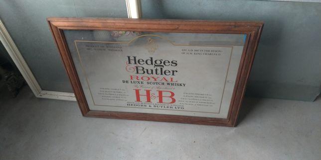 Espelho whiskey Hedges Butler Royal